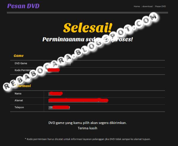 cara memesan dvd elsword online