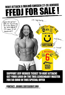 Jeff Hedges, Vert Attack, Malmo Sweden