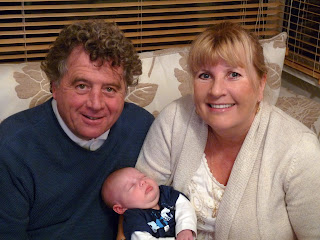 Nanny and Grandad with Freddie