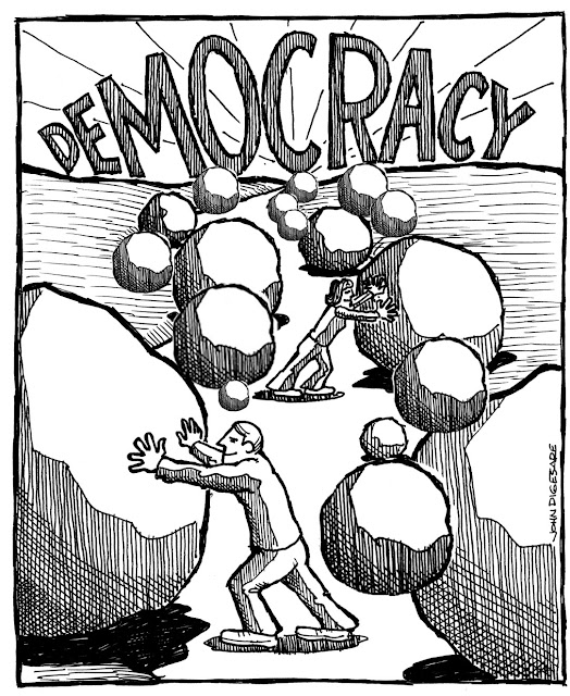 A DEMOCRACIA EM ANGOLA, UMA ILUSÃO?