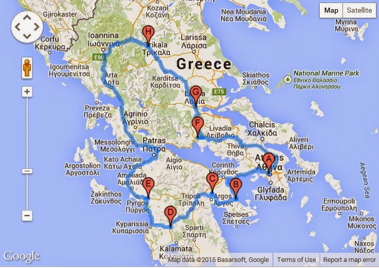Chois Travel Blog Greece 5 Day Vacation Itinerary