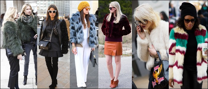 #nyfw, street style, nyfw, faux fur vest, how to wear fur jacket, how to wear fur vest
