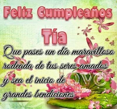 Imagen Feliz Cumpleaños Para Mi Tia Hermosa