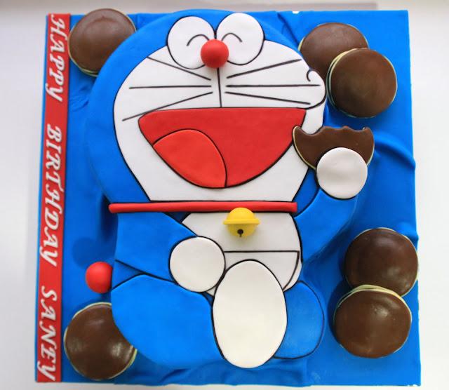 Doraemon Cake Design : Celebrate with Cake!: Doraemon Cake