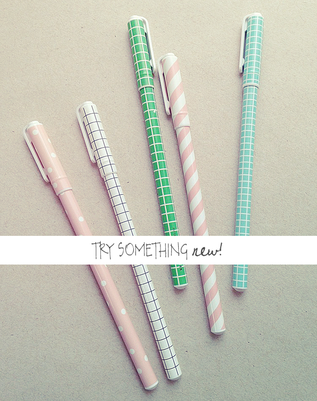 Try Something New - Buy the Perfect Pen