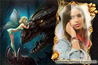 fotomontaje dragon