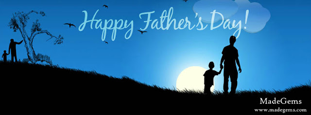 Father and Son Facebook Covers for Father's Day