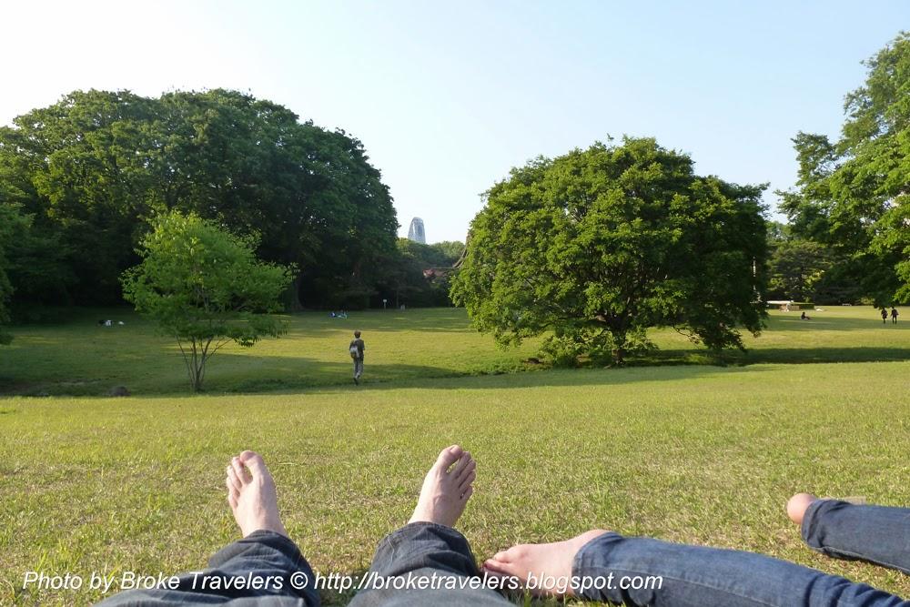 Yooyogi Park tokyo