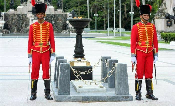Tomb of the Unknown Soldier on Carabobo Field, Venezuela
