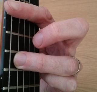 Bmaj9 guitar chord