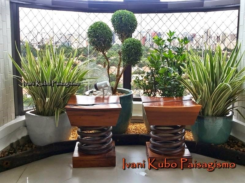 Muito Ivani Kubo Paisagismo: Varandas de Apartamento + Jardins = Estilo  SQ61