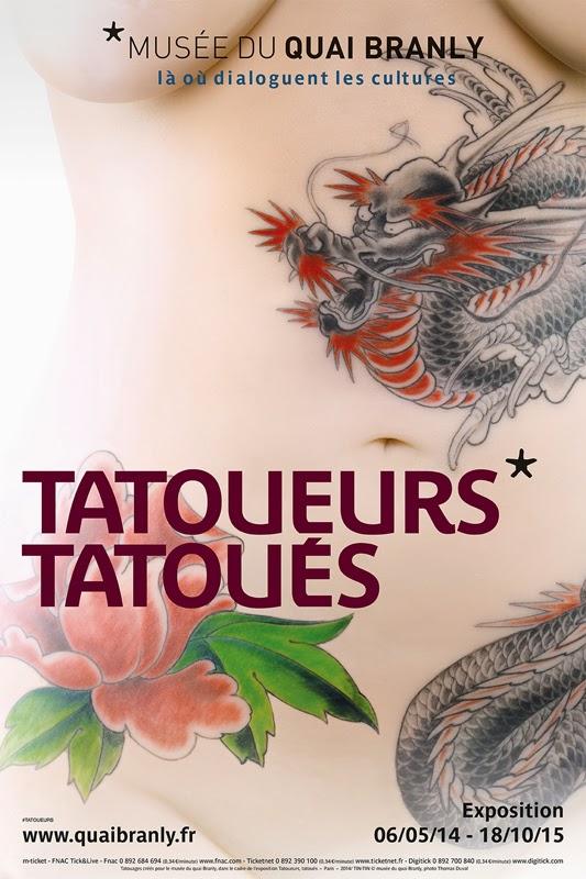 tatouage exposition paris - Quai Branly Museum