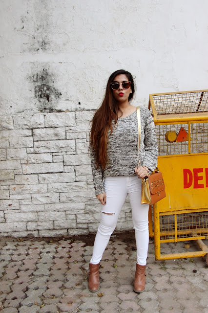 fashion, winter fashion trends 2016, casual winter outfit, warm winter outfit, white ripped skinny jeans, backless pullover, delhi fashion blogger, delhi blogger, indian blogger, indian fashion blogger, vintage sunglasses, beauty , fashion,beauty and fashion,beauty blog, fashion blog , indian beauty blog,indian fashion blog, beauty and fashion blog, indian beauty and fashion blog, indian bloggers, indian beauty bloggers, indian fashion bloggers,indian bloggers online, top 10 indian bloggers, top indian bloggers,top 10 fashion bloggers, indian bloggers on blogspot,home remedies, how to