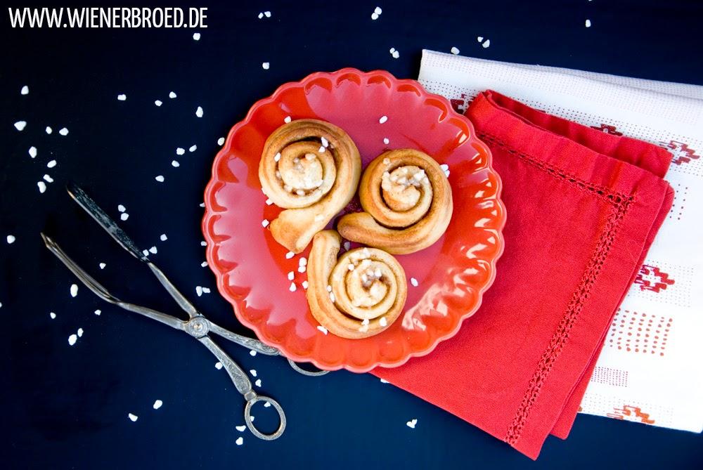 Cinnamon rolls, swedish