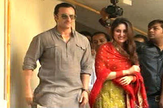 Saif Ali Khan and Kareena Kapoor Photos after the wedding