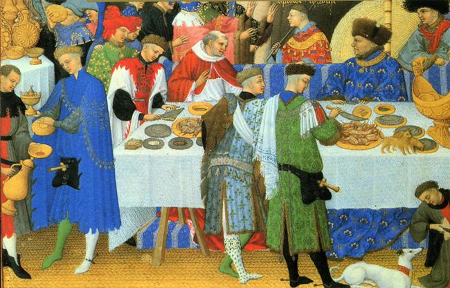 Los templarios noviembre 2011 for Gastronomia francesa historia