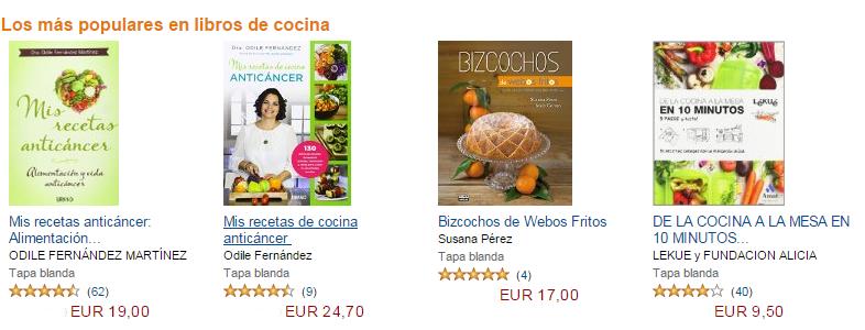 Libros populares de cocina
