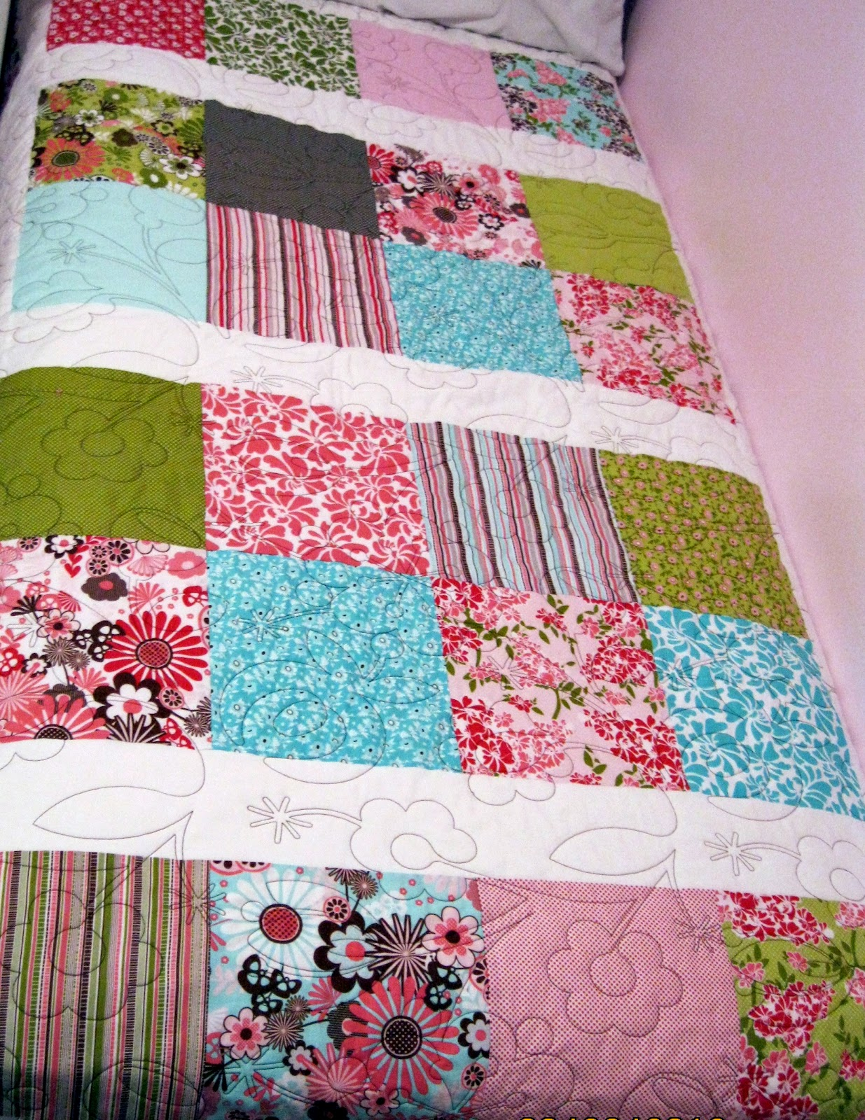 Quilts and Jewels: 10 inch Stacker
