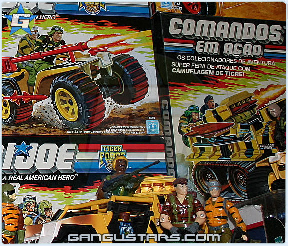 G.I.joe Tiger Force convention exclusives rare G.I.ジョー JoeCon