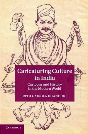 ritu gairola khanduri, caricaturing culture in india, political cartoon book