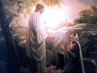 Jesus Resurrection Mary Tomb Picture