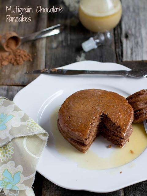 Multigrain Chocolate Pancakes