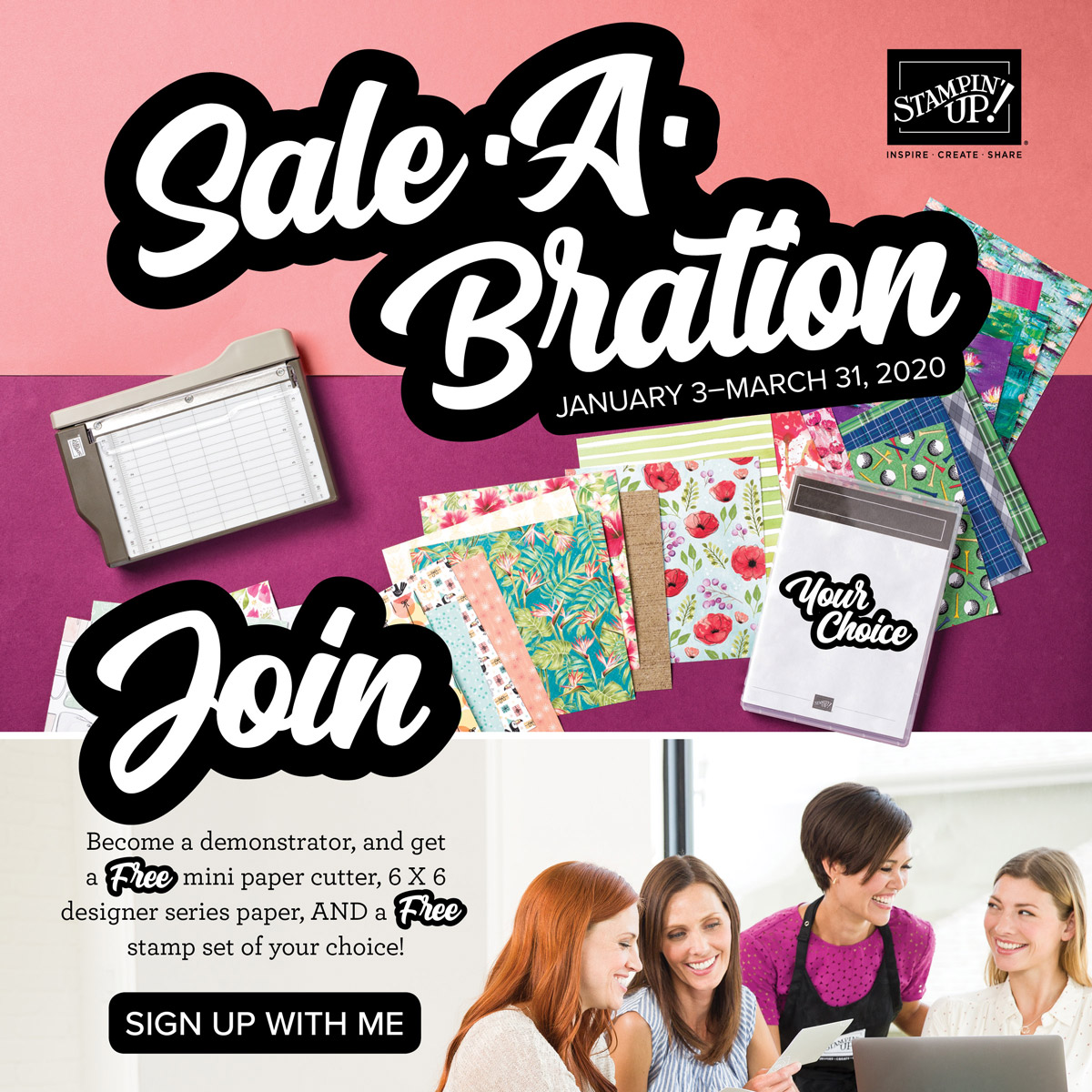 Join My Devoted Stamper Team
