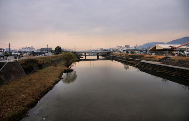 Mikasa River, Fukuoka, Kyushu, Japan