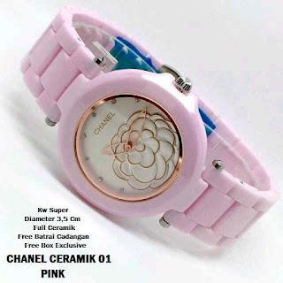 jam wanita murah meriah Chanel Ceramik 01