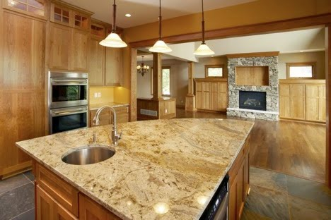 Granite Kitchen Island Designs