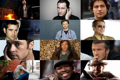 Hombres, actores y artistas I (para todas las mujeres)