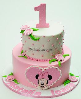 "Tort "" Minnie Mouse"" pentru Natalia"