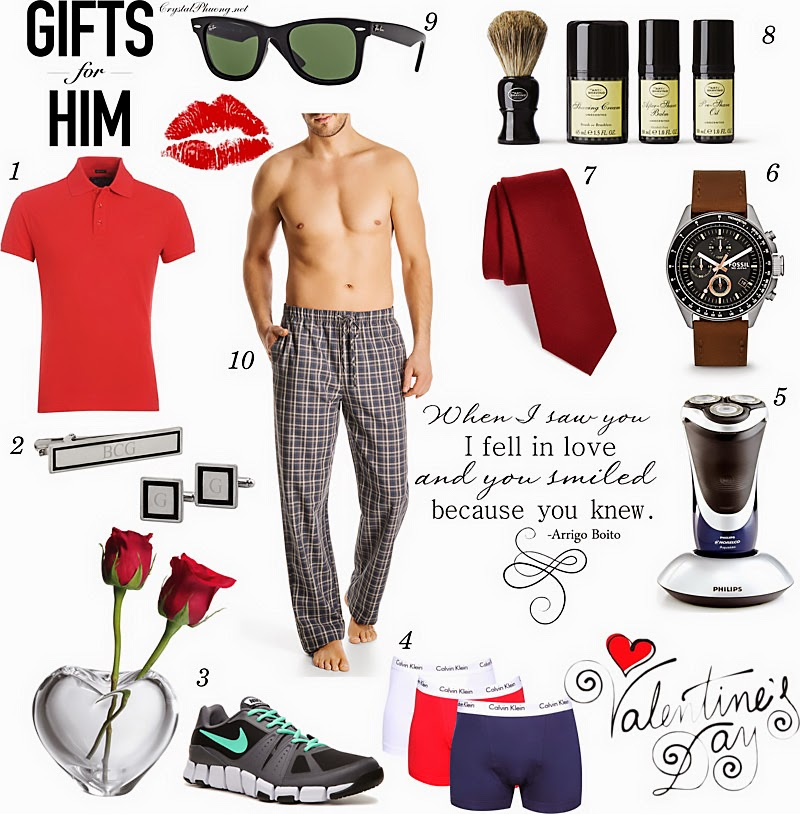 VALENTINE'S DAY GIFTS GUIDE: FOR HIM