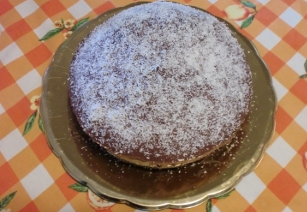 Ricetta torta kinder pingui al cocco