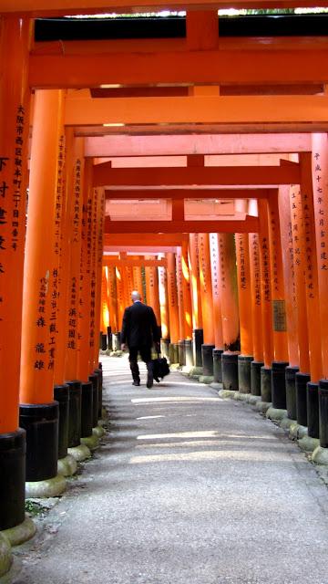 Salaryman in Fushimi Inari