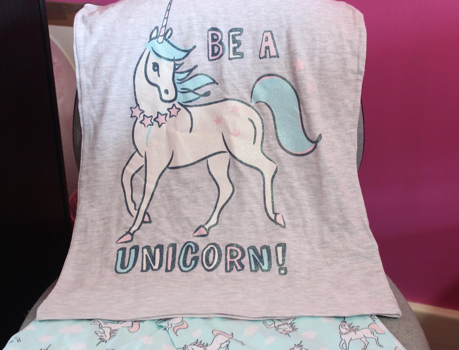 Unicorn PJ Top