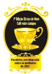 """Obrigada blog """"Café entre Amigos"""", e a todos que votaram em """"Imaginação""""."""