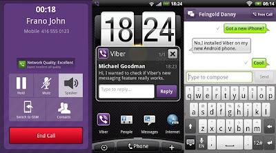 Las mejores aplicaciones de mensajería III: ChatOn & Viber