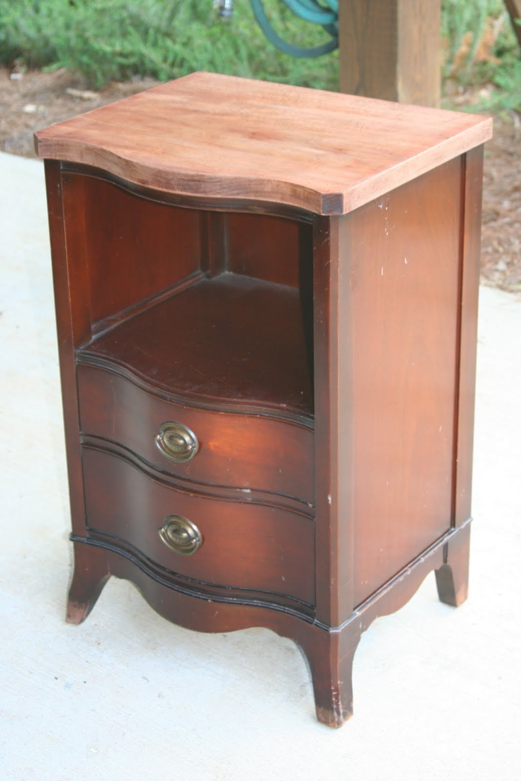 weathered pieces funky nightstand