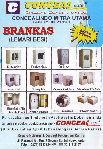 Brankas | Lemari Besi | Jogja | Yogya | Yogyakarta | Jogjakarta