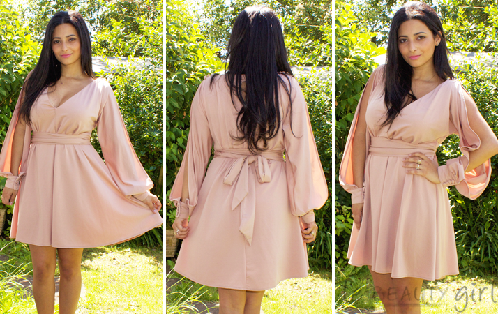ASOS Split Sleeves Dress