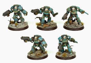 Pre-Heresy Alpha Legion Tartaros Terminator Squad