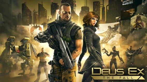 Deus Ex The Fall Android Apk Data