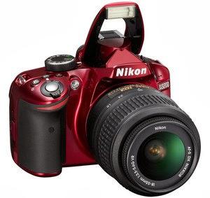 Nikon D3200 - Lensa Kit ED II 18-55mm