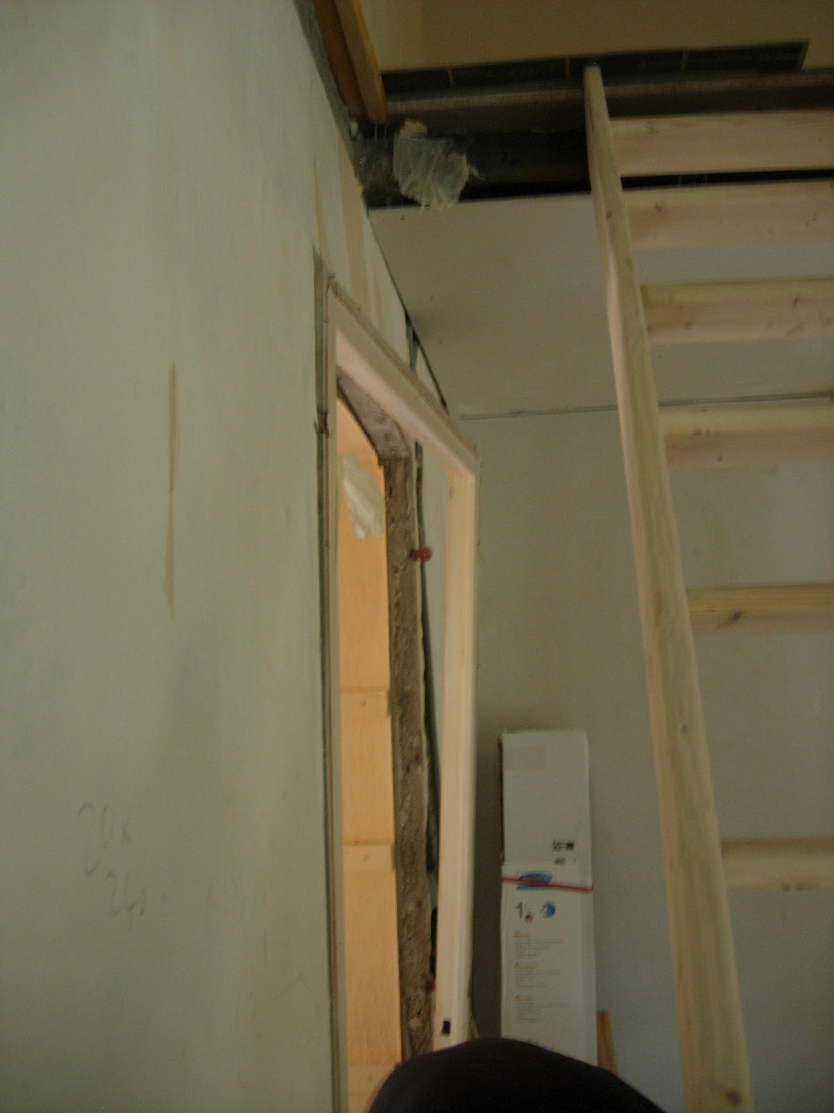 Notre maison nos travaux 2 me partie porte choix du - Ragreage sur du carrelage ...