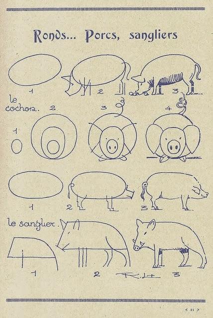 Le coin des enfants apprendre dessiner les ronds - Comment cuisiner un gigot de sanglier ...
