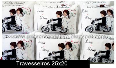 Travesseiros para casamento