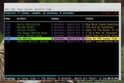 mpd with ncmpcpp in Linux Mint