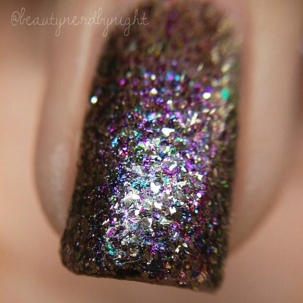 Macro Swatch: Chloe & Bella Dragon's Breath