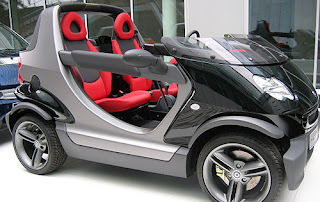 Smart Car Tesla Sport Car